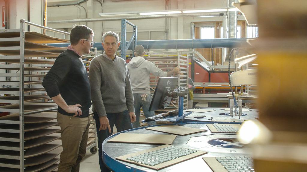 Manufacturing automation glass machining