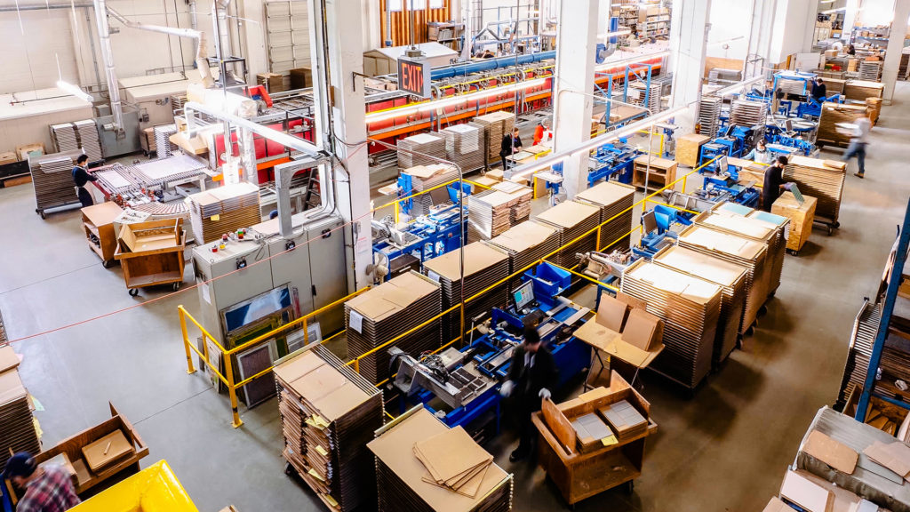 warehouse automation factory manufacturing